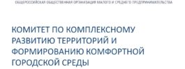 Александр Моор возглавил Комитет по КРТ и формированию комфортной городской среды «Опора России»