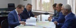 Александр Моор с рабочим визитом посетил г. Георгиевск Ставропольского края